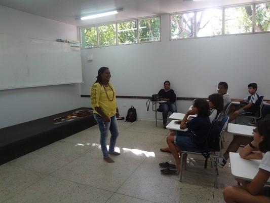 Suluene Santana fala sobre cultura indígena