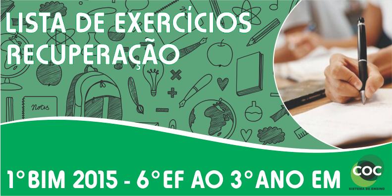 b04f8d43553 LISTA DE EXERCÍCIOS RECUPERAÇÃO