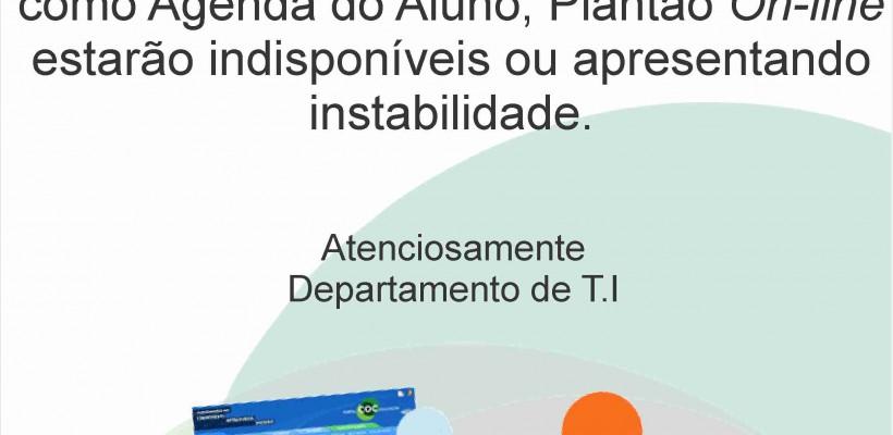 AVISO – PORTAL COC EM NOVO ENDEREÇO!