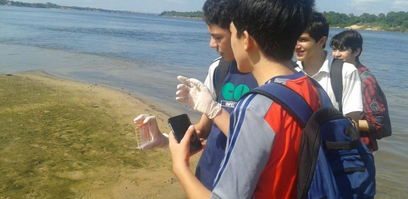 AULA PRÁTICA DE BIOLOGIA – RIO TOCANTINS