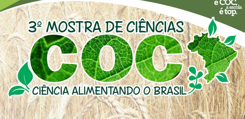 COMUNICADO 3ª MOSTRA DE CIÊNCIAS COC