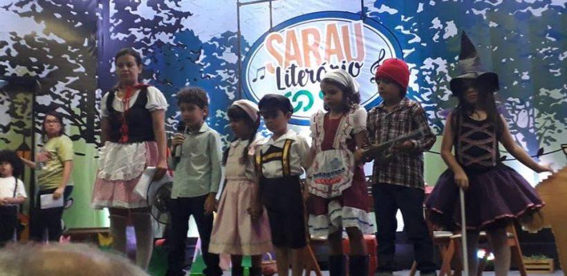 SARAU LITERÁRIO COC – 2018 CANTOS, CONTOS E ENCONTROS.