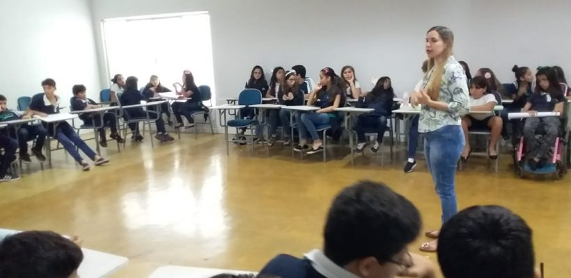 PALESTRA SOBRE AS CAUSAS E CONSEQUÊNCIAS DO BULLYING