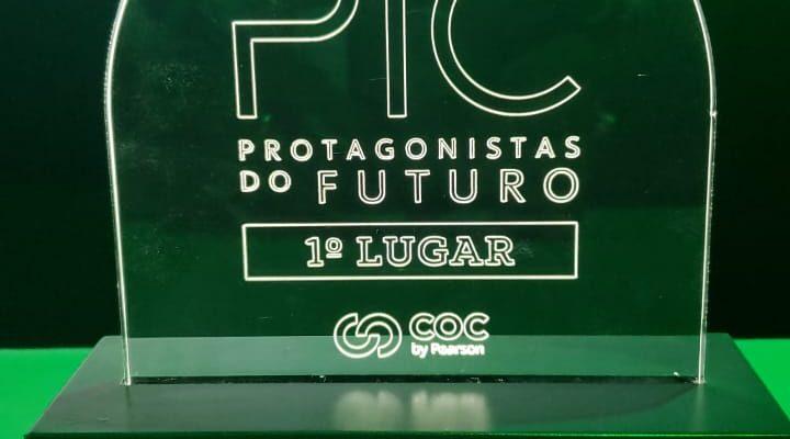COC 1º LUGAR – PRÊMIO PIC-COC 2019
